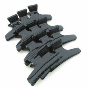 Verdeelhaarklip zwart (per 12 stuks)
