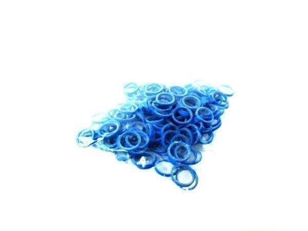 Ortho Elastiekjes blauw 100st.