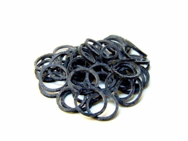Ortho Elastiekjes zwart 1000st.