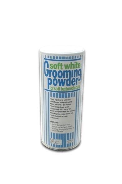 Soft White Grooming Powder Ring 5
