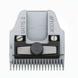 Aesculap Scheerkop 2 mm. fijn lange Tanden GH 715