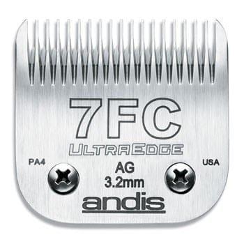Andis Scheerkop Ultra Edge Size 7F (3 mm.)