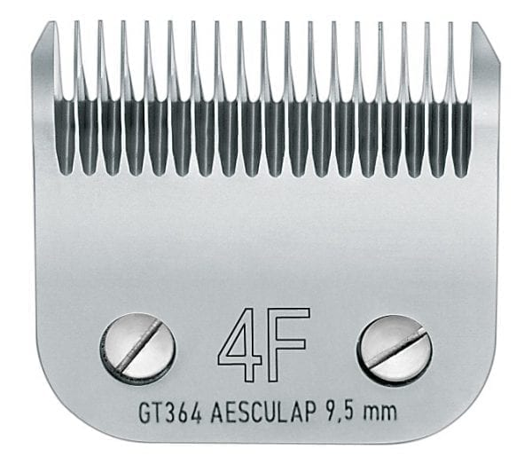 Scheerkop Aesculap Snap On Size 4F (9.5 mm.)