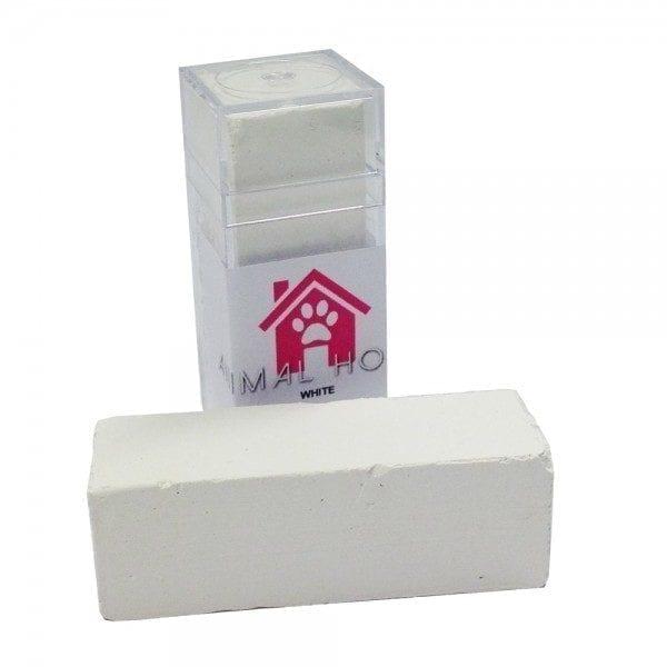 Animal House Chalk Block - White