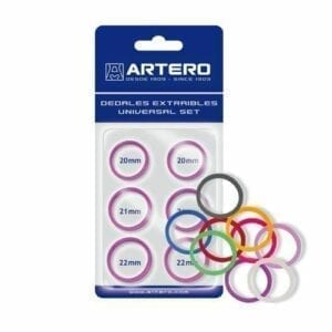 Artero set vingerringen transparant