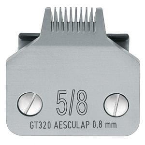Aesculap Snap On Scheerkop 0,8 mm Size 5/8 Type A5 GT320