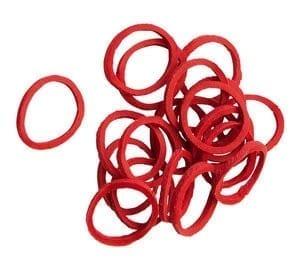 Doosje Hippo Tonic elastiekjes Rood 500 stuks