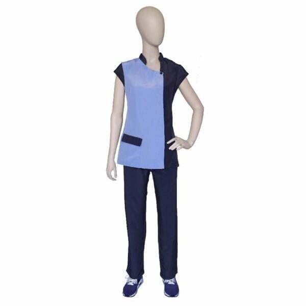 Vest Brigitte Blue blue 2XL